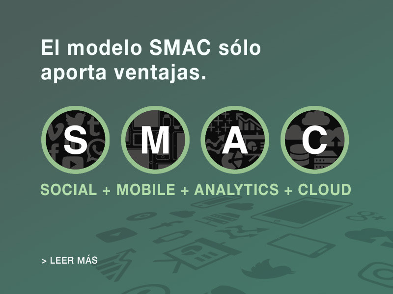 ¿Qué son las tecnologías SMAC (Social, Mobile, Analytics-Big Data y Cloud Computing)?