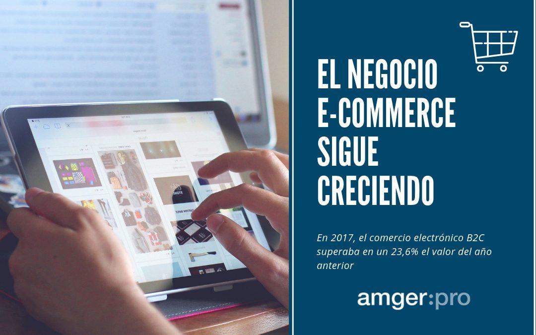 Digitalízate: El comercio electrónico B2C sigue en expansión
