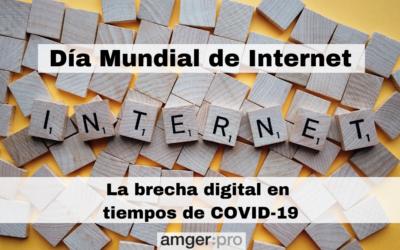 Día Mundial de Internet: La brecha digital en tiempos de COVID-19