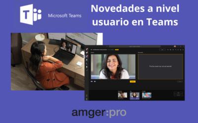 Novedades en Microsoft Teams: cambio de ubicación de grabaciones y presentadores externos en eventos en directo