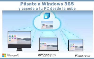 Llega Windows 365: la solución para utilizar tu ordenador desde la nube, en cualquier lugar y desde cualquier dispositivo