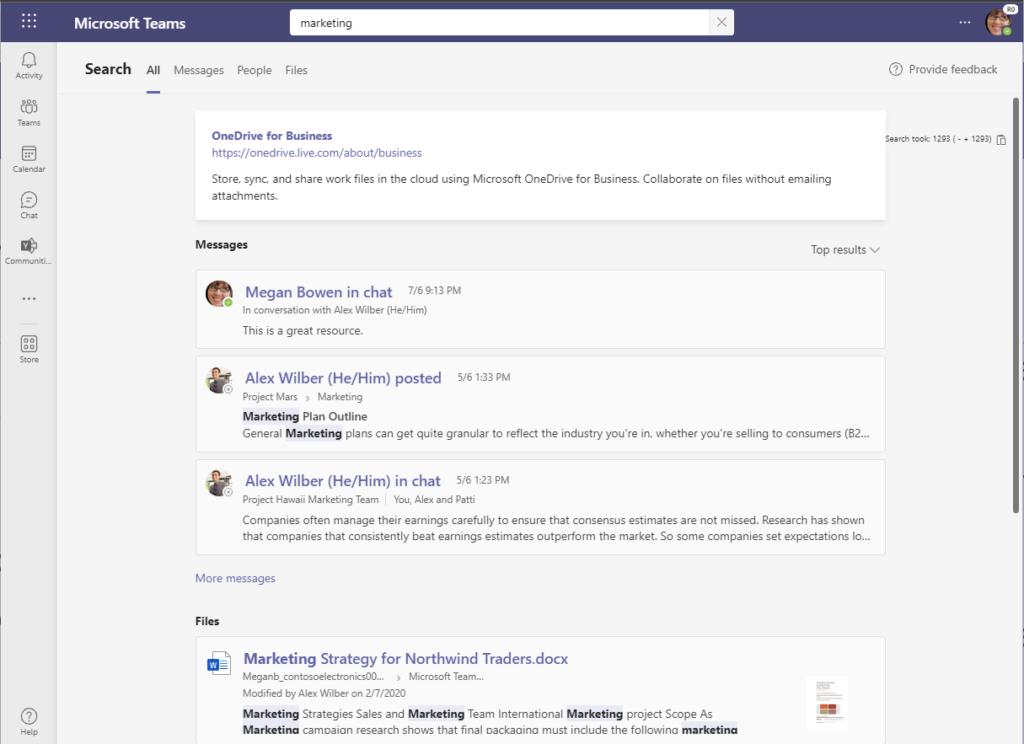 amgerpro_Microsoft Teams search results page screenshot_new